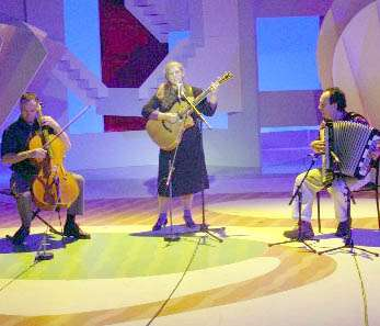 Kristina Olsen Trio Live on ABC tv